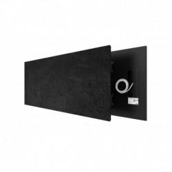 AEH Welltherm Glazen infraood paneel met frame 400x1500x20 mm 625 Watt 15 kg