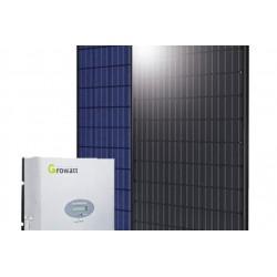5 zonnepanelen + invertor