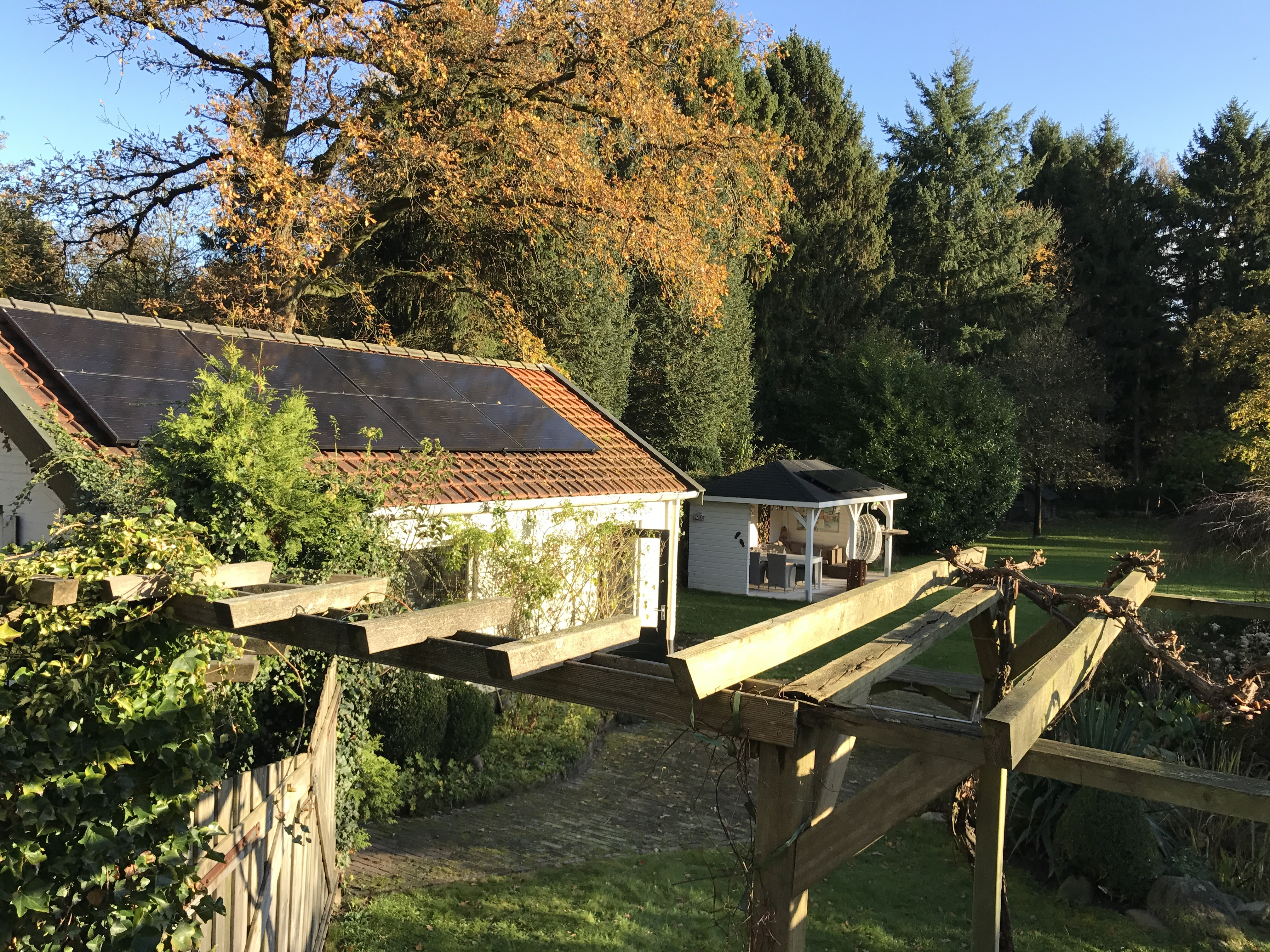 Een zonnepaneel instalaltie uitgevoerd door All Electric Home