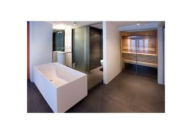 Infrarood verwarming, ideaal voor de bad-, woon en slaapkamer.
