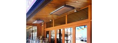 Allerlei soorten terrasverwaming bij All Electric Home.